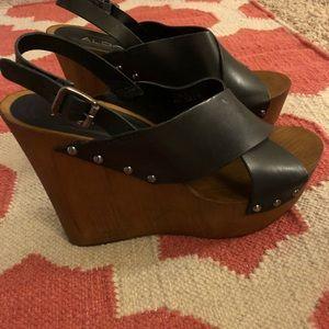 Aldo wedge sandals